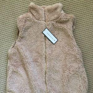 Fleece Zip-UP Vest (teddy bear)